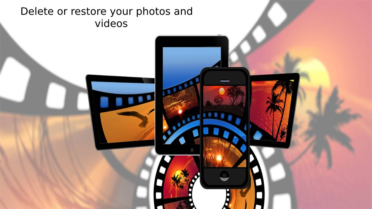 Delete or restore your photos and videos