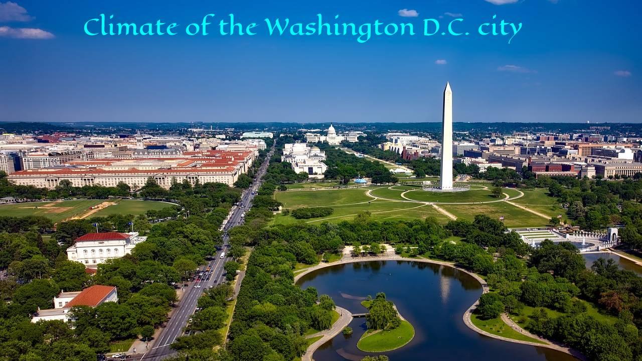 Climate of the Washington D.C. city