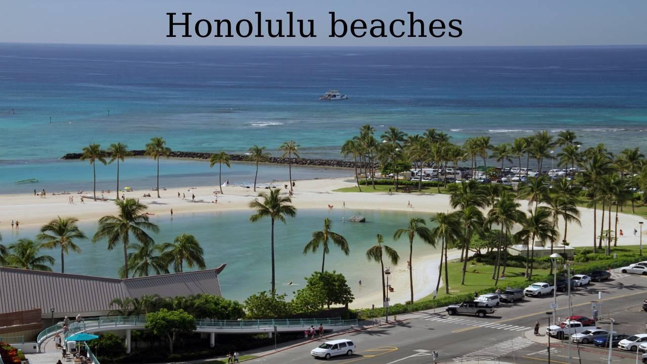 Honolulu beaches